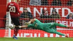 Romero volvió a demostrar por qué se merece estar en Manchester United y en la Selección. No atajaba desde el 12 de diciembre ante Valencia por Champions.