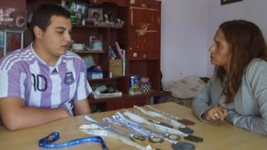 """""""Decidí amputarme la pierna para tener una vida mejor"""", afirmó Gonzalo Soiza a Jornada Play."""