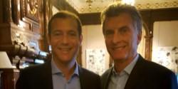 Los dos mandatarios durante un encuentro anterior (foto archivo gentileza Neuquén Informa).