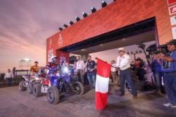 El Rally Dakar 2019 tuvo su comienzo en Perú.