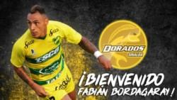 Fabián Bordagaray rescindió su contrato con Defensa y Justicia (le quedaban 6 meses) y es nuevo refuerzo del Dorados de Sinaloa.