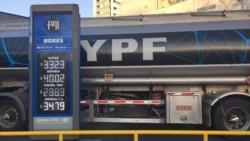 YPF anunció que baja el precio del combustible por segunda vez en un mes.