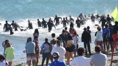 Con 115 participantes entre todas las categorías, se realizó ayer la cuarta fecha del Campeonato Patagónico de Triatlón en Puerto Madryn.