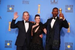 "Viggo Mortensen, Linda Cardellini and Mahershala Ali, protagonistas de ""Green Book""."