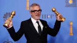 """El mexicano Cuarón, mejor director y """"Roma"""", mejor película extranjera."""
