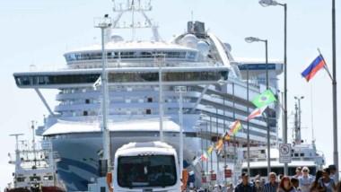 La temporada de cruceros se desarrolla a pleno con los ingresos previstos de los buques de placer.