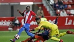 El Sporting de Gijón pisó fuerte como local y venció 2-1 al Valencia por la ida de los octavos de final.