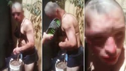 Los presos cuando se enteraron que su nuevo compañero había cometido abusos afuera y dentro del penal, no lo dejaron pasar y le impusieron su condena.