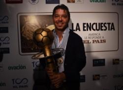 Gallardo, recibió el premio