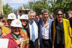 """El candidato a presidente por el Frente de Todos, Alberto Fernández, dijo que la provincia de San Juan """"es un modelo a seguir"""" en el desarrollo de la minería."""