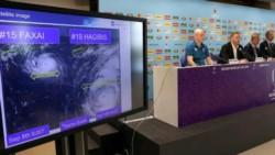 El tifón Hagibis amenaza el desenlace de la fase de grupos del Mundial de rugby.