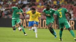 Senegal amarga a Neymar su partido 100 con Brasil.