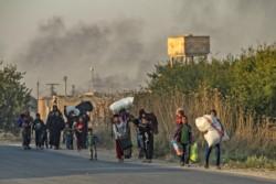 La población civil afectada por el enfrentamiento de distintos intereses en la región.
