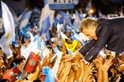 """Macri en Salta: """"No voy a parar hasta construir esa Argentina que nos merecemos""""."""