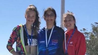 La chubutense Laura Pinilla ganó la medalla de oro, dejando a la provincia en lo más alto en salto en alto.