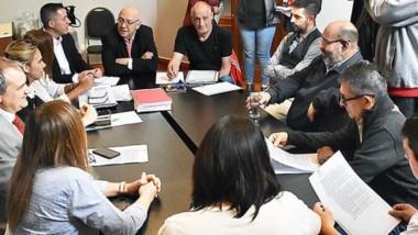 Maza habló tras la reunión de la Comisión de Transporte.