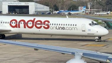 Los vuelos de la empresa Andes peligran para este fin de semana.