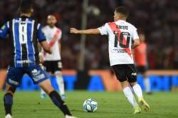 Rafael Santos Borré, de Barranquilla. Boca, doblete a Patronato y Almagro. Cuatro goles en los últimos tres partidos que jugó.