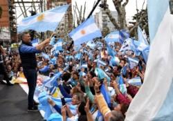 Mauricio Macri en Olavarría: