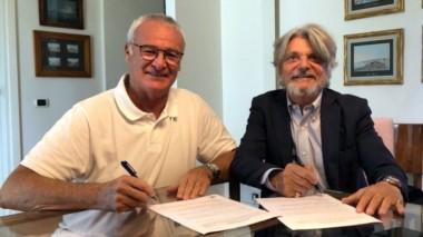Claudio Ranieri tomará el lugar de Eusebio Di Francesoo en Sampdoria.