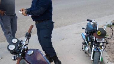 Las dos motos fueron preventivamente secuestradas por la Policía.