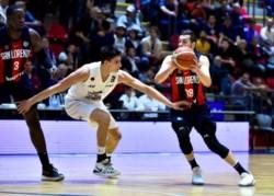 San Lorenzo derrotó a Gimnasia de Comodoro Rivadavia 80-72 por el torneo Súper 20.