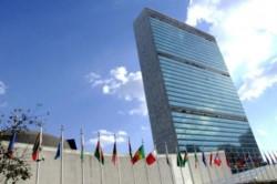 Sede central de la ONU en Nueva York. El tío Sam no honra sus deudas como suele pregonar...