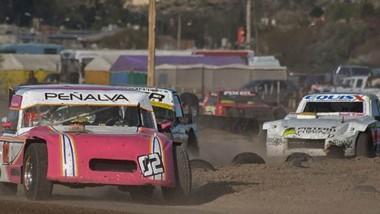 """David Peñalva, segundo ayer detrás del """"Pato"""" Jarme, se quedó con el título en la categoría Simple Tracción Limitada del campeonato de Safari 2019."""