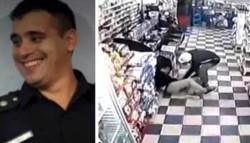 Lucas Giménez tenía 33 años y un hijo de 9. Fue asesinado salvajemente por un delincuente.