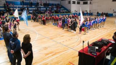 La Fundación de Patín Mirta Ledesma entregó una placa a Maderna.