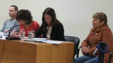 Las magistradas Arcuri y Tassello determinaron la prisión de Gallardo.