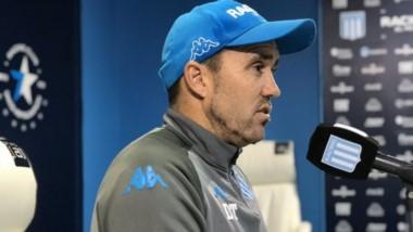 """Coudet: """"El tema Inter está cerrado. Tenemos un partido muy importante mañana y no podemos desenfocarnos""""."""