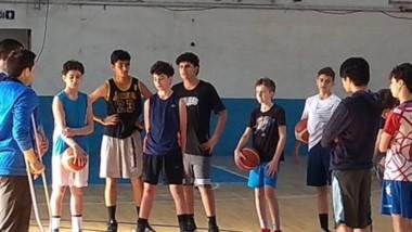 Los chicos tuvieron su última práctica en el gimnasio del club Guillermo Brown de Puerto Madryn.