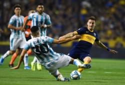 La jugada que termina con la lesión de Sigali tras el choque con Soldano.