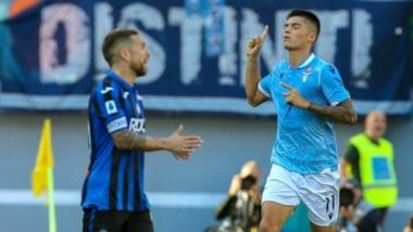 Atalanta ganaba 3-0 pero entre Inmobile -2- y Correa lo empataron.