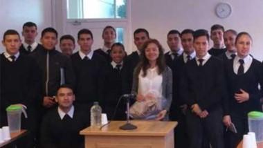 Los jóvenes conocieron los distintos espacios y a funcionarios.