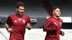 Leonardo Ponzio y Juan Fernando Quintero se encuentran en óptimas condiciones físicas.