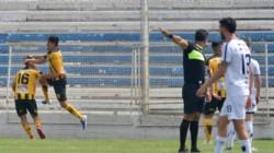 El experimentado Ismael Blanco anotó de cabeza el único gol sobre el final del encuentro.