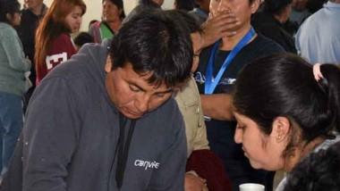 Residentes bolivianos de Puerto Madryn y el Valle cumplieron con el voto a presidente de su país en la ciudad del Golfo.