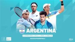 Gastón Gaudio confirmó a cuatro de los 5 argentinos para la Copa Davis.