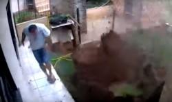 Alta explosión. Las hormigas desaparecieron, pero el jardín de su casa también.