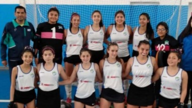 El seleccionado Sub 14 de la Asociación Austral de Hockey se quedó con el segundo puesto en el Argentino.