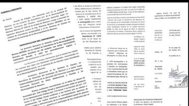 Las denuncias presentadas por la concejal a cargo de la intendencia contra la administración Artero.