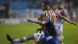 San Martín le gana a Almagro con un gol de Luis Aguiar y es puntero absoluto.
