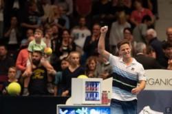 Enorme victoria de Diego Schwartzman ante Gael Monfils en el ATP 500 de Viena para avanzar a su tercera final del año.
