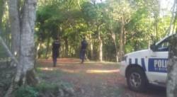 El lugar donde encontraron el cuerpo (Foto Misiones Online).