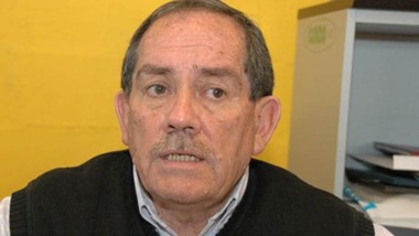Rubén Villagra de la Cámara de Comercio del Este del Chubut.
