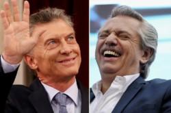 El presidente Macri busca descontar diferencia y forzar al balotaje. Si repite la elección de agosto, Alberto Fernández será presidente.