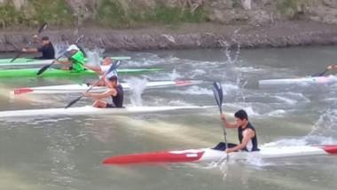 El fin de semana se llevó a cabo una nueva fecha del campeonato de canotaje del valle, en el club Huracán.