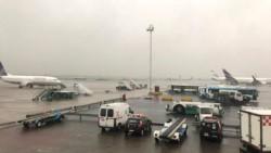 Condiciones meteorológicas desfavorables modifican derrotas de las aeronaves, generando algunas demoras para los arribos en Ezeiza.